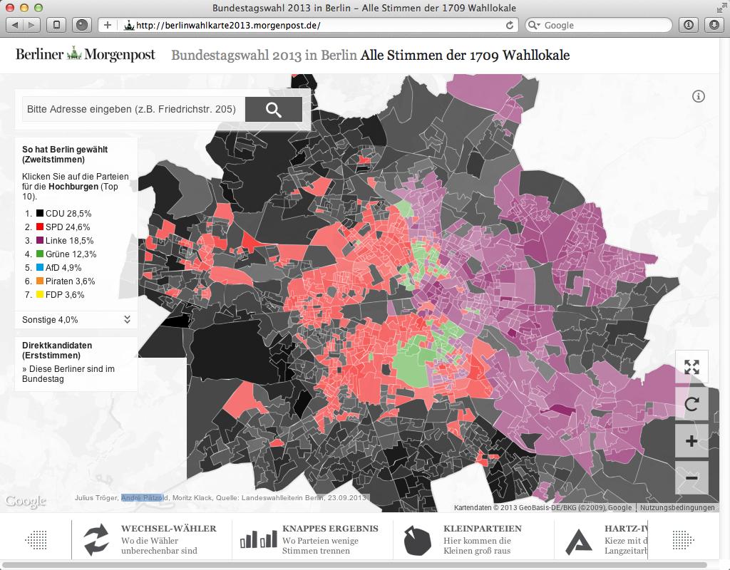 Bundestagswahl 2013 in Berlin - Alle Stimmen der 1709 Wahllokale 2013-09-30 20-24-19