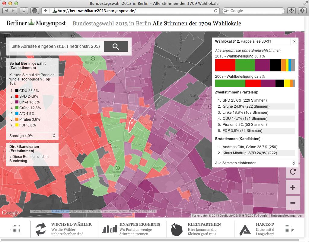 Bundestagswahl 2013 in Berlin - Alle Stimmen im Wahllokal 612 Pappellallee 2013-09-30 20-28-15